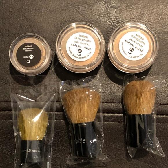 bareMinerals Other - Bare minerals Mini makeup with mini kabuki brush